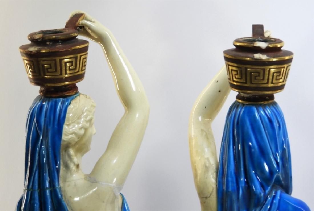 PR. Royal Worcester Porcelain Greek Female Figure - 9