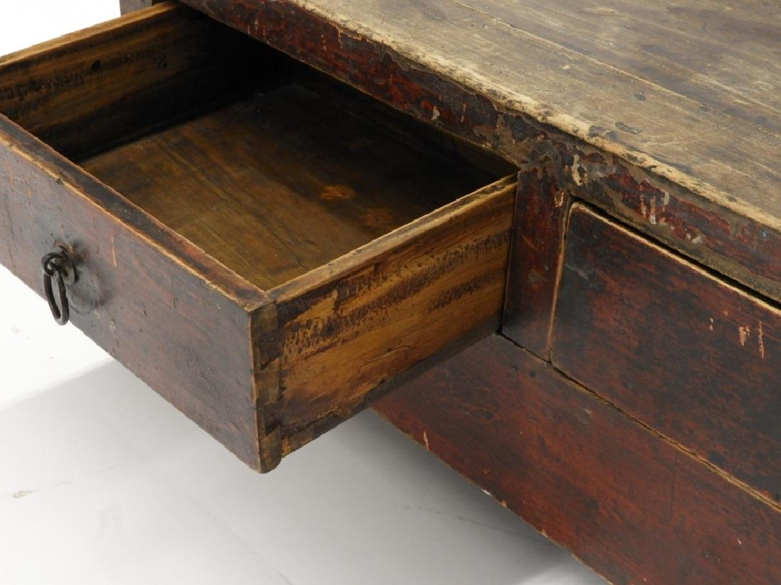 Chinese Two Drawer Alter Table Display Stand - 4