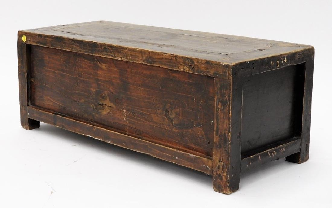 Chinese Two Drawer Alter Table Display Stand - 5