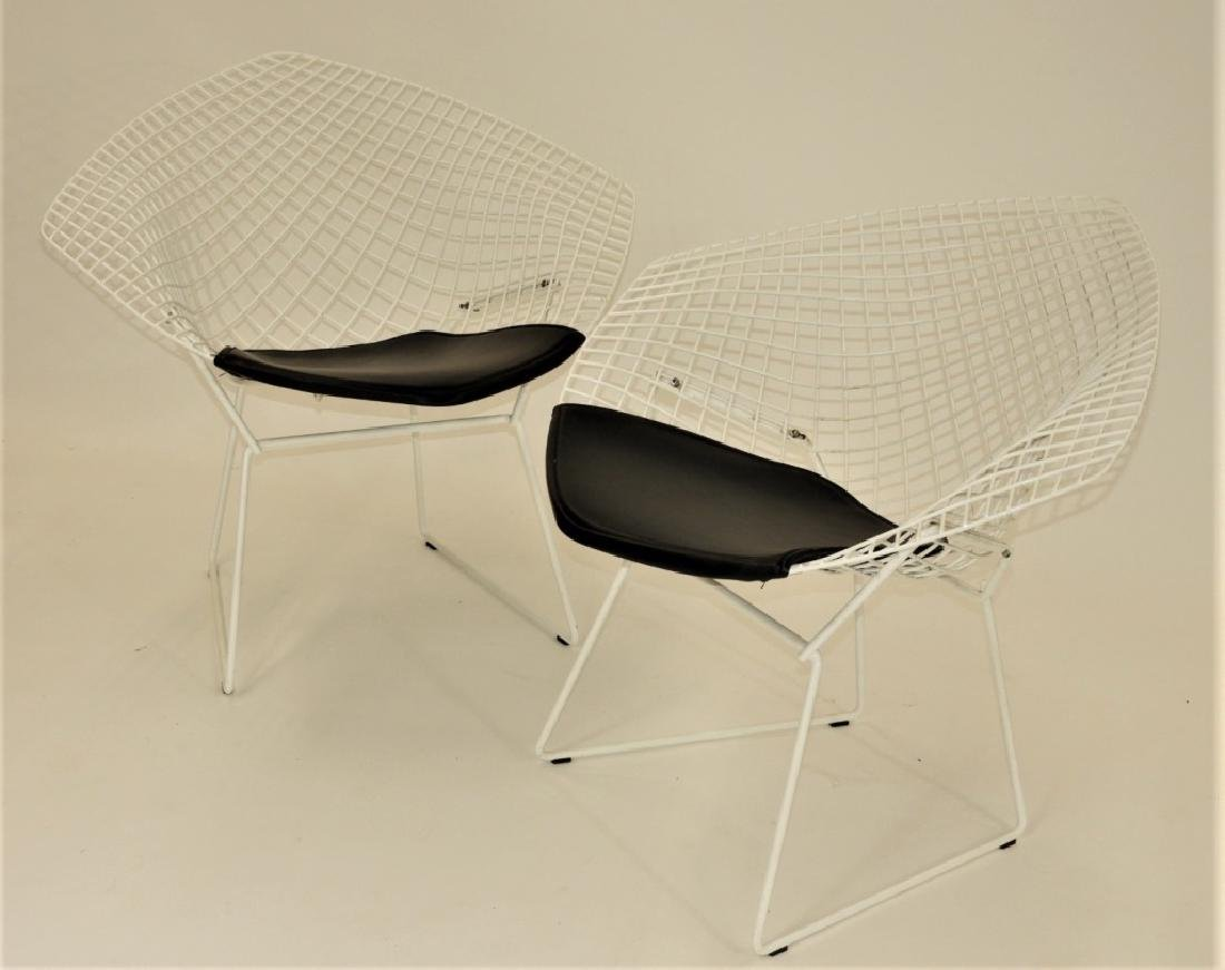 PR Harry Bertoia for Knoll Steel Diamond Chairs