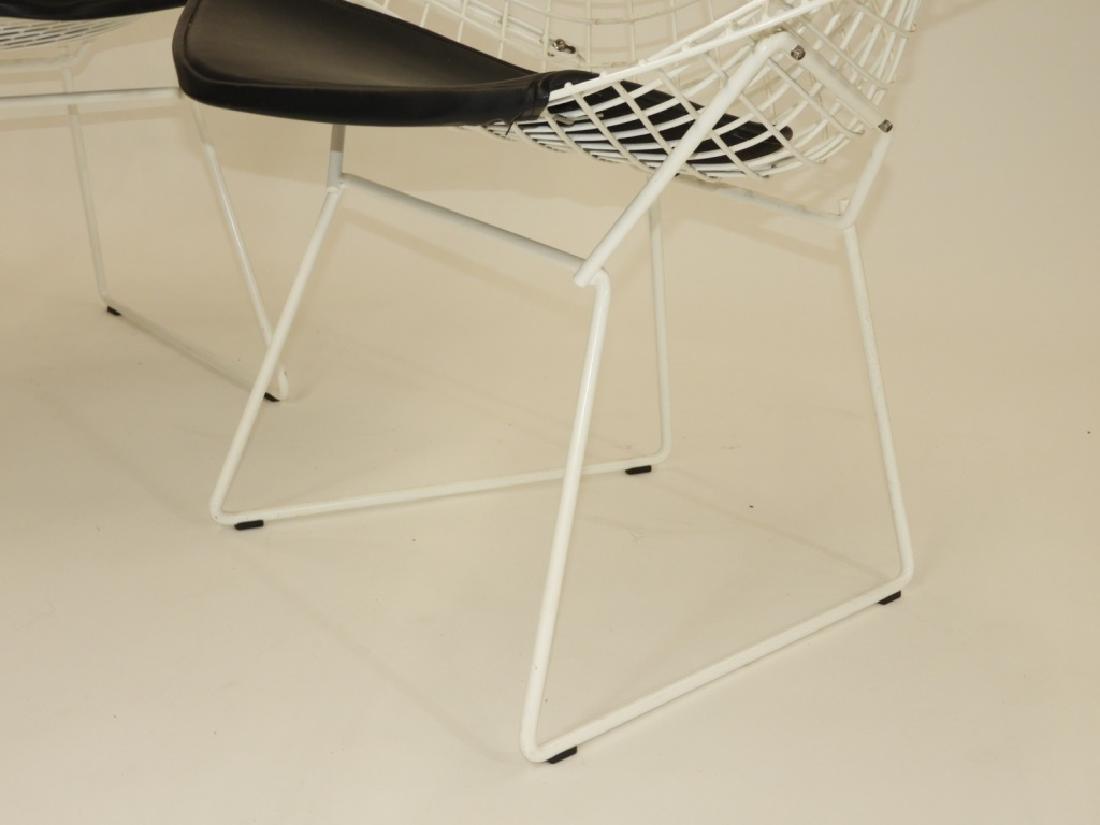 PR Harry Bertoia for Knoll Steel Diamond Chairs - 4