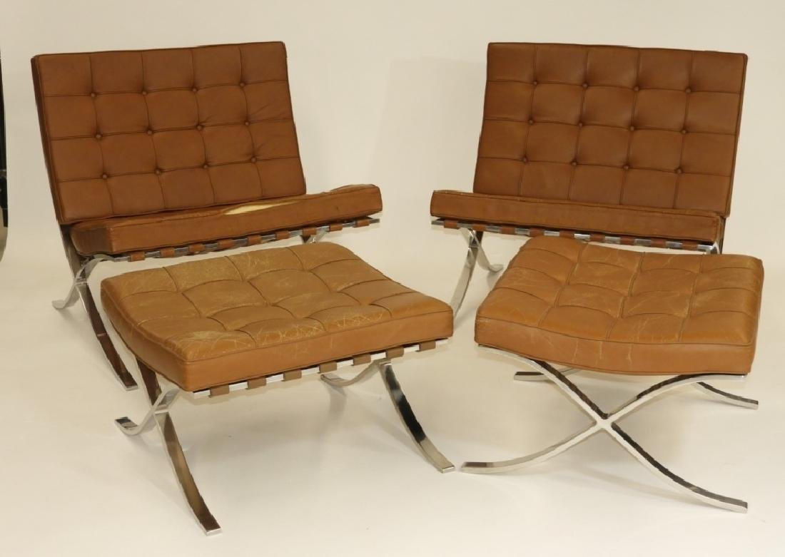 PR Ludwig Mies van der Rohe Chairs & Ottomans