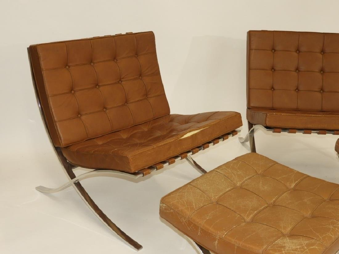 PR Ludwig Mies van der Rohe Chairs & Ottomans - 2