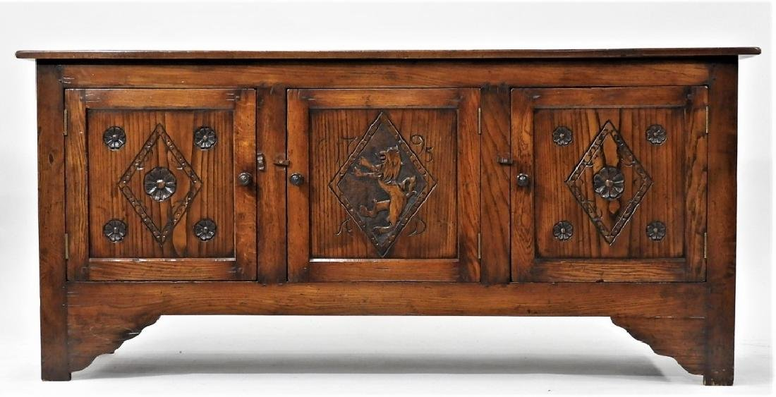 Gostin English Renaissance Revival Oak Sideboard