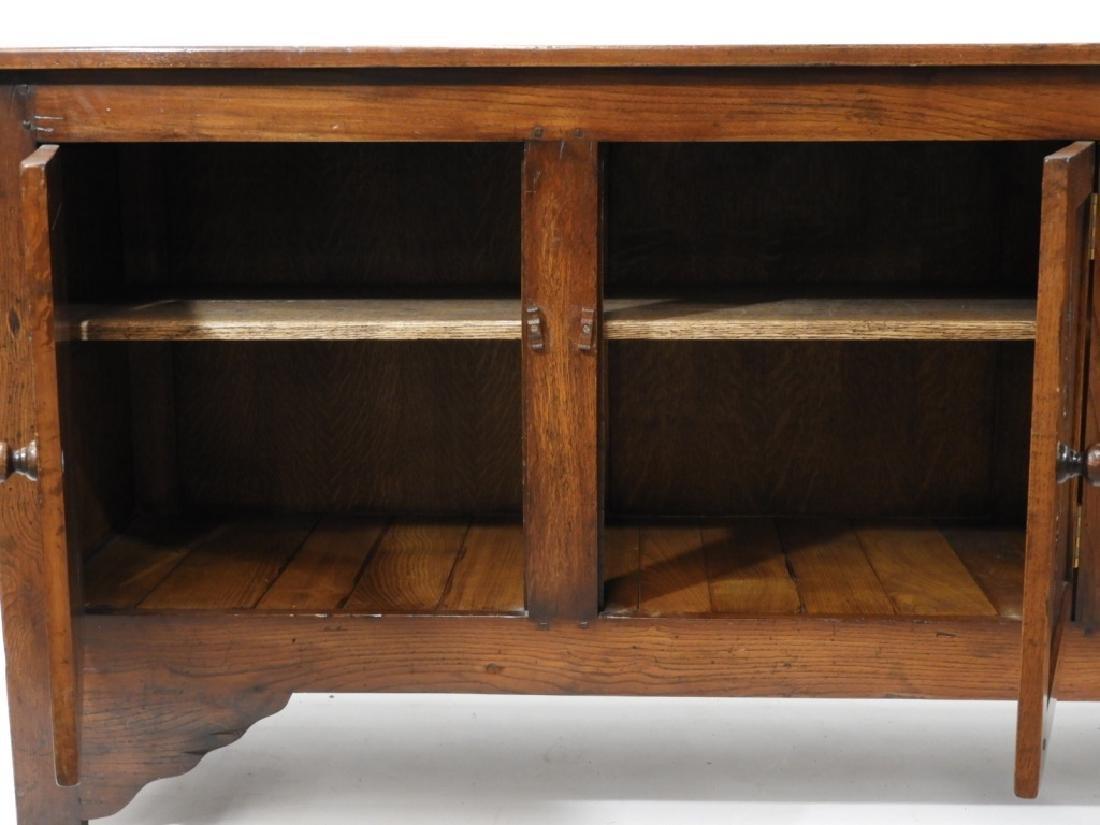 Gostin English Renaissance Revival Oak Sideboard - 4