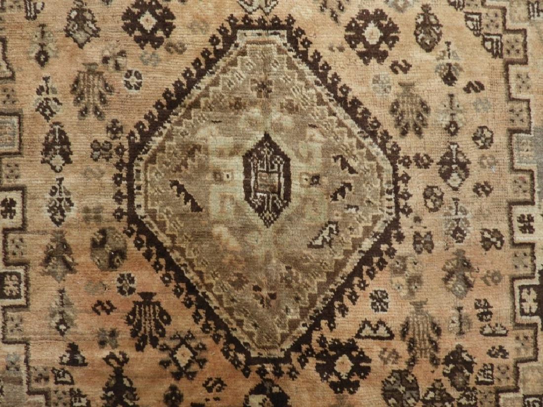 Oriental Persian Ghashghaei Camel Hair Carpet Rug - 2