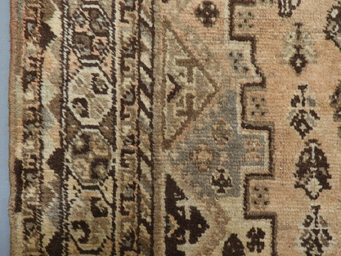 Oriental Persian Ghashghaei Camel Hair Carpet Rug - 3