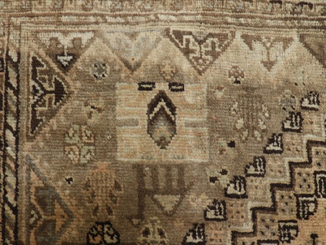Oriental Persian Ghashghaei Camel Hair Carpet Rug - 4