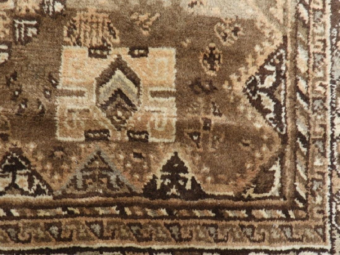 Oriental Persian Ghashghaei Camel Hair Carpet Rug - 5