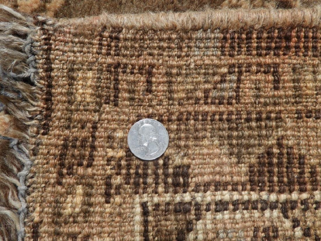 Oriental Persian Ghashghaei Camel Hair Carpet Rug - 7