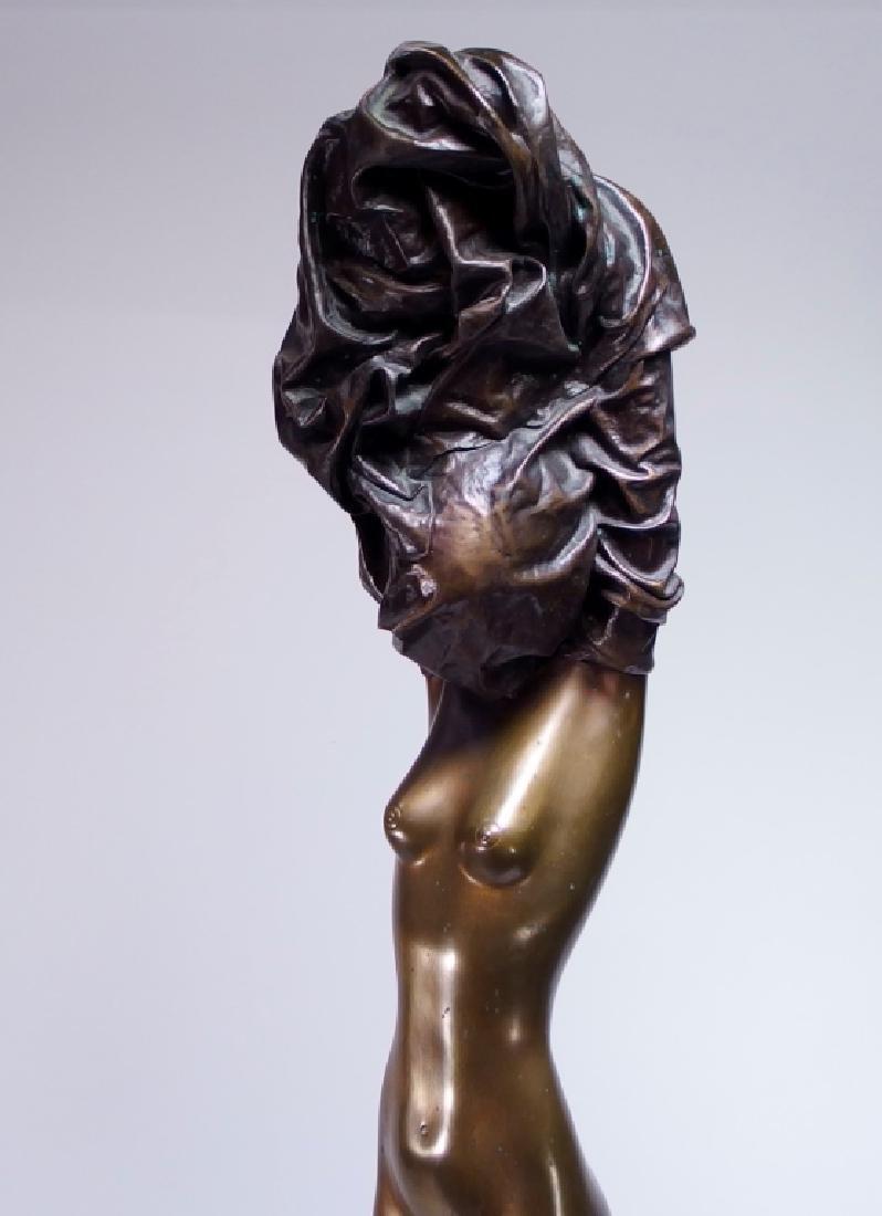 Bruno Bruni La Divina Bronze Sculpture of Nude - 2