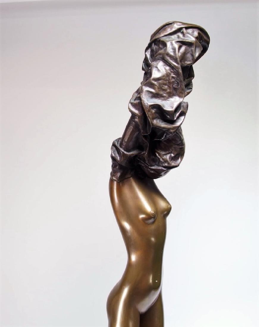 Bruno Bruni La Divina Bronze Sculpture of Nude - 6