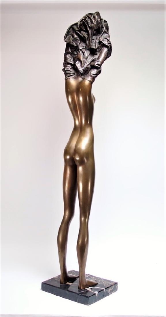 Bruno Bruni La Divina Bronze Sculpture of Nude - 7