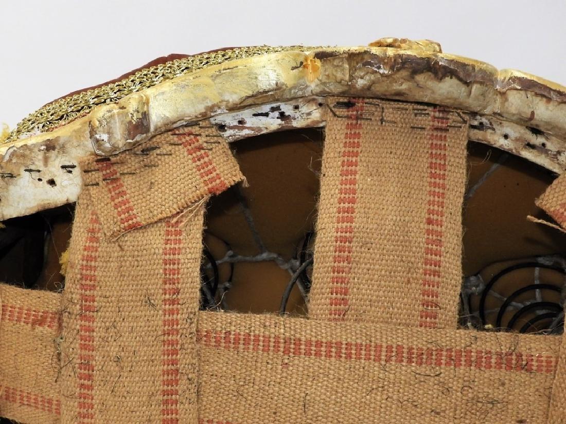 18C. French Louis XV Period Gilt Armchair - 9