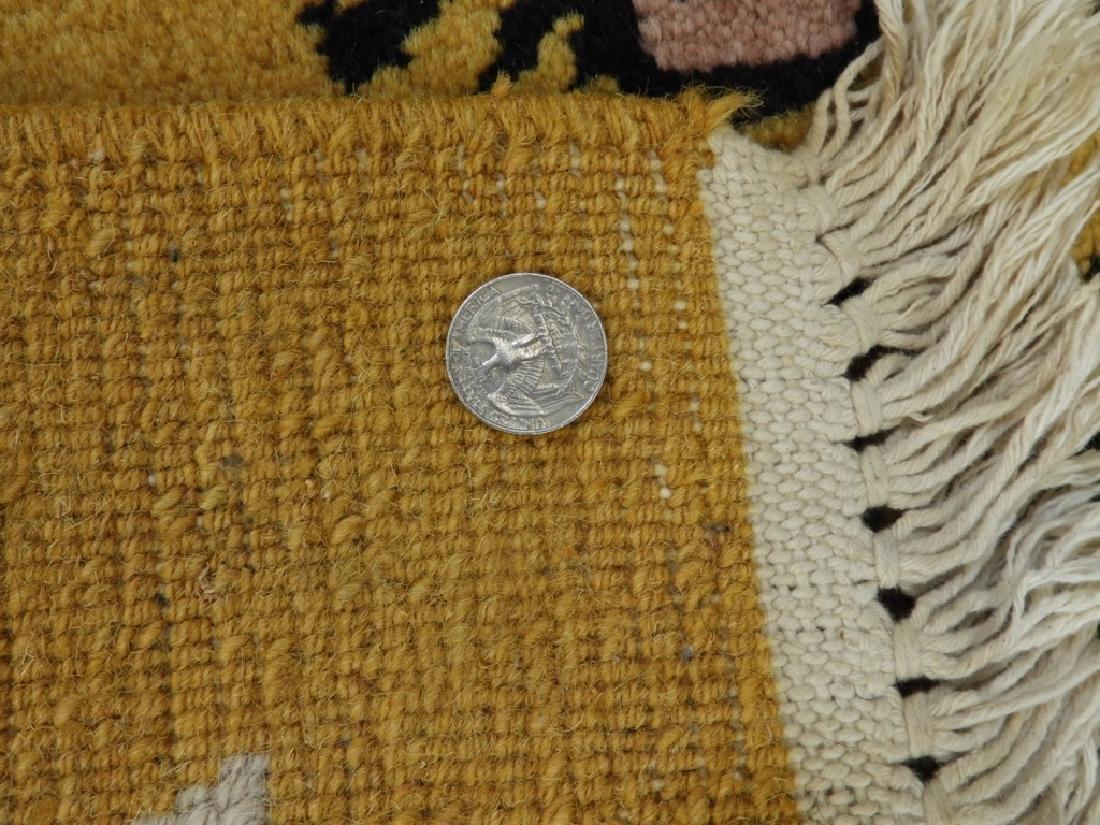Tibetan Sprawled Tiger Decorative Wool Carpet Rug - 6