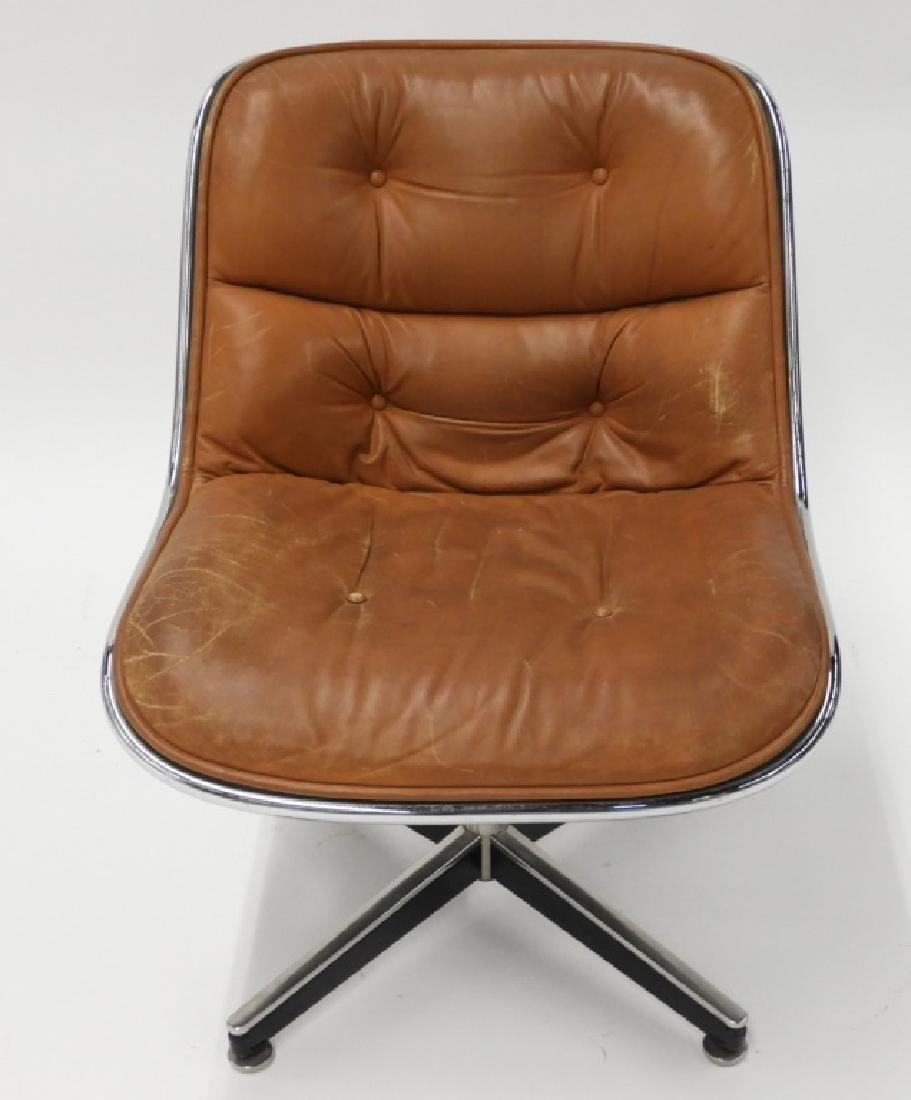 Charles Pollock for Knoll Leather Office Chair - 2