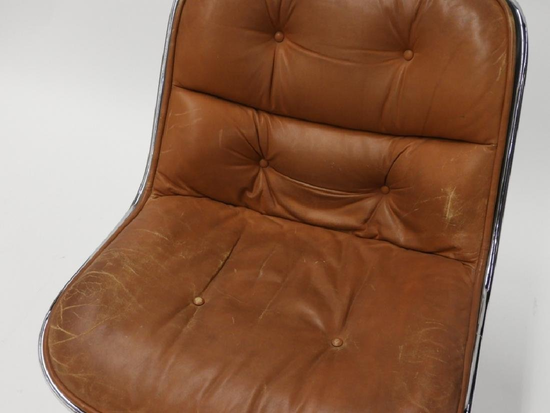 Charles Pollock for Knoll Leather Office Chair - 3
