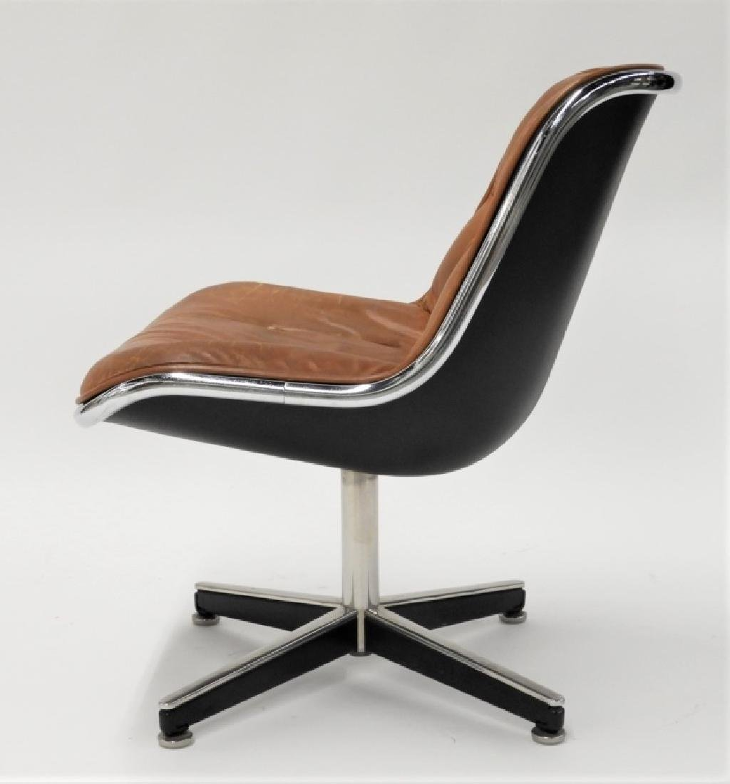 Charles Pollock for Knoll Leather Office Chair - 4