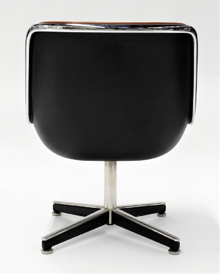 Charles Pollock for Knoll Leather Office Chair - 5