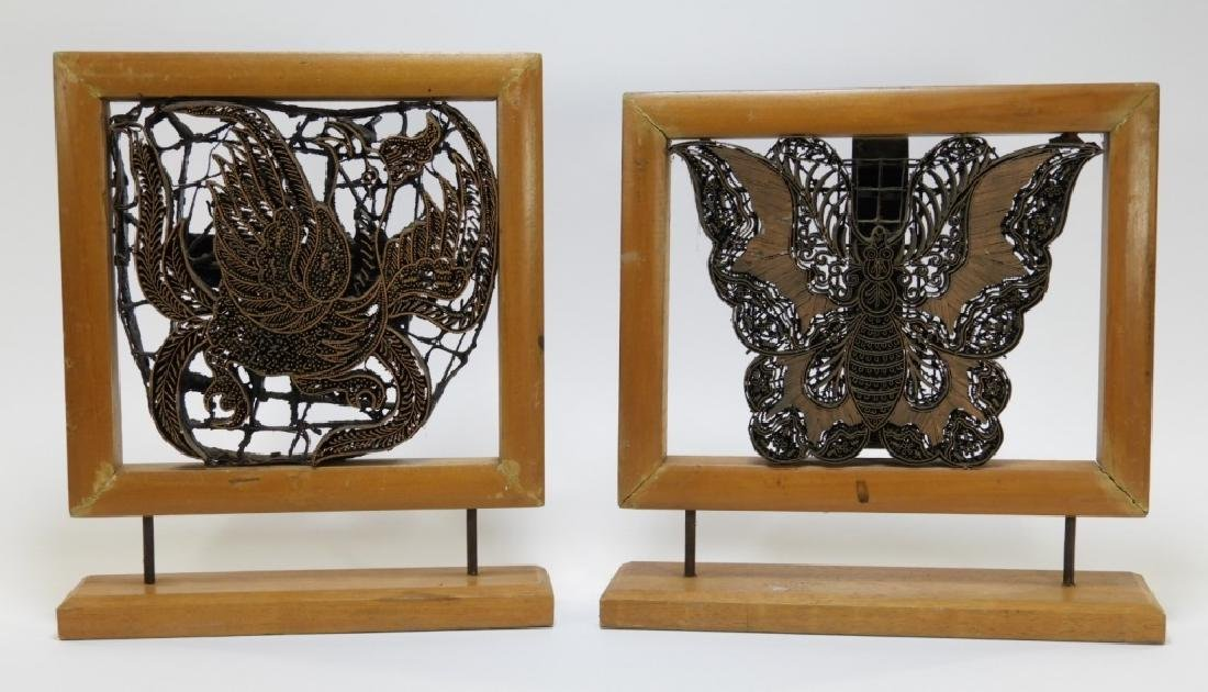 PR Balinese Butterfly Dragon Mounted Fabric Stamps