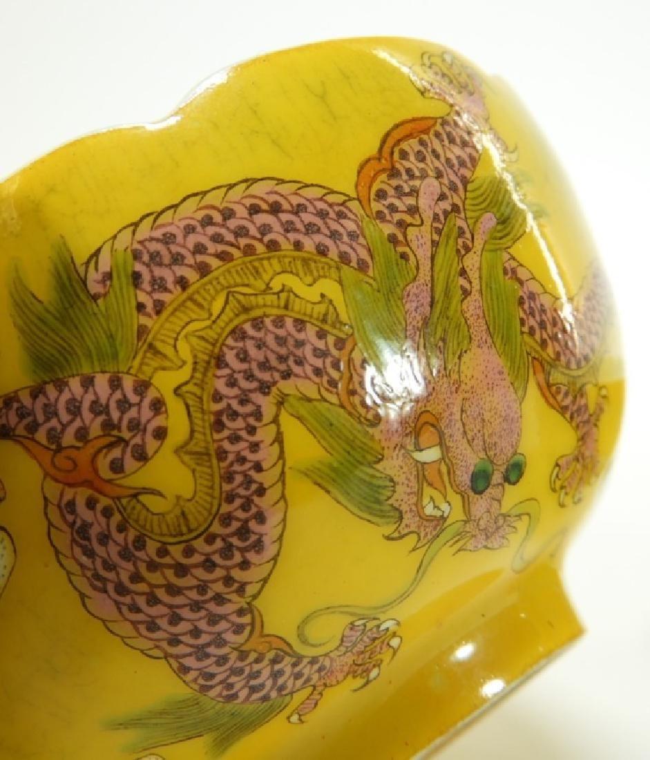 PR. Chinese Guangxu Period Dragon Phoenix Bowl - 10