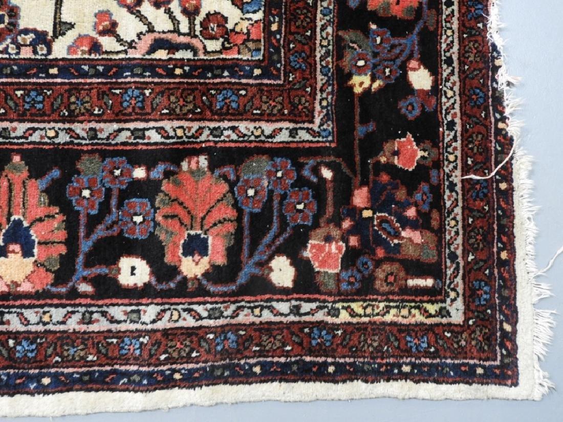 Oriental Persian Ivory Heriz Room Size Carpet Rug - 5