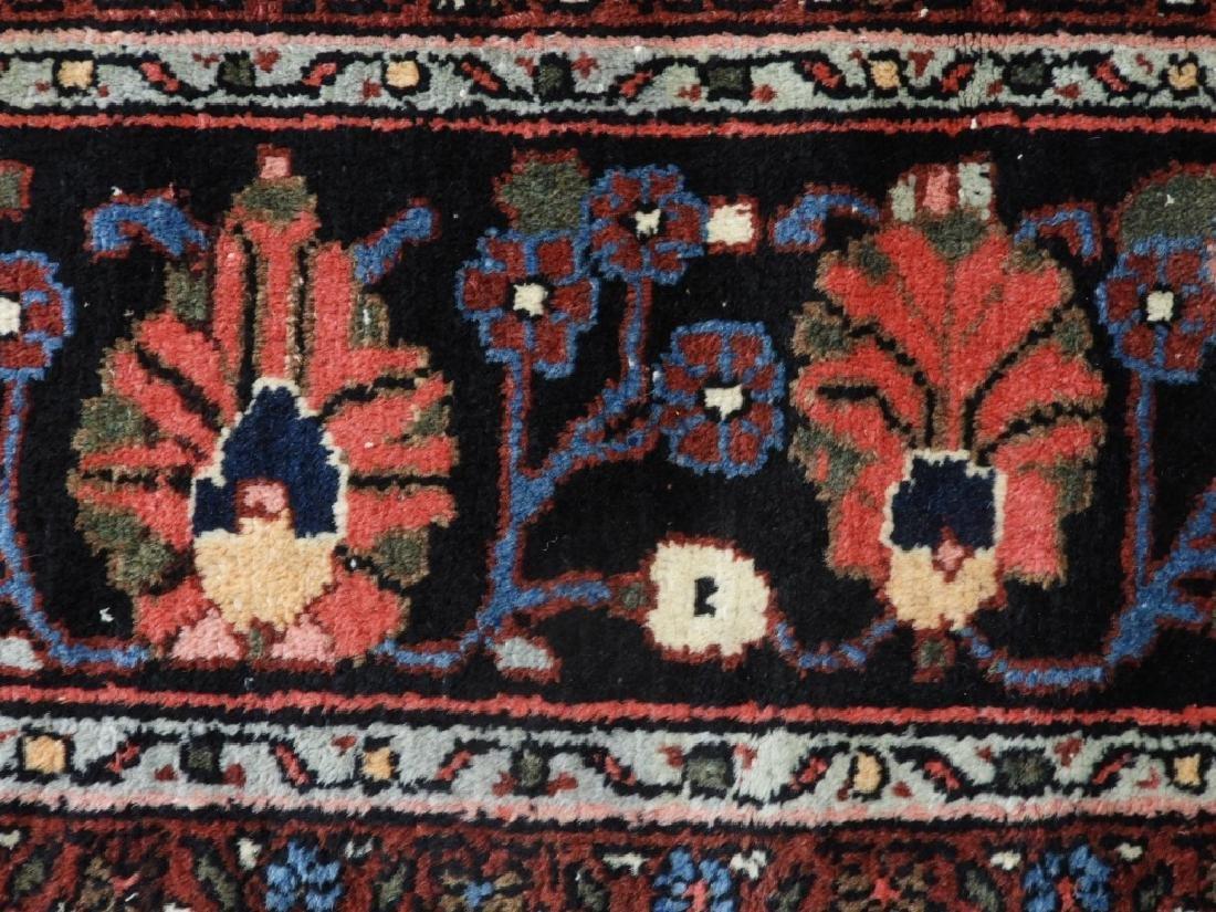 Oriental Persian Ivory Heriz Room Size Carpet Rug - 6