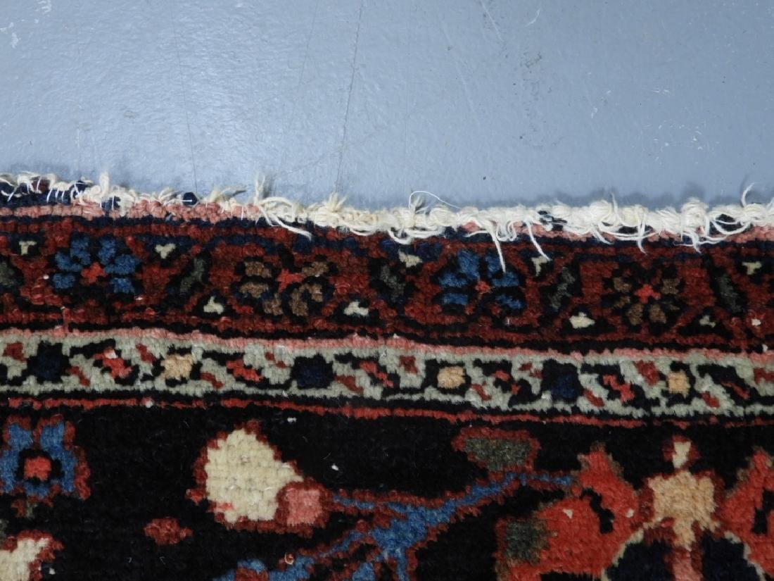 Oriental Persian Ivory Heriz Room Size Carpet Rug - 8