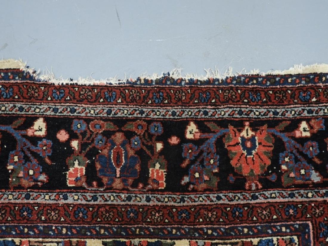 Oriental Persian Ivory Heriz Room Size Carpet Rug - 9