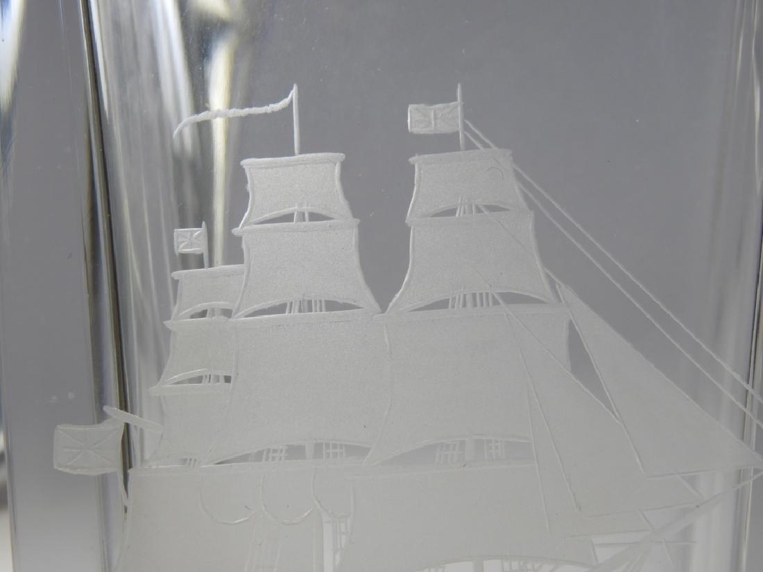PR Shreve Crump & Low Crystal HMS Java Decanters - 4