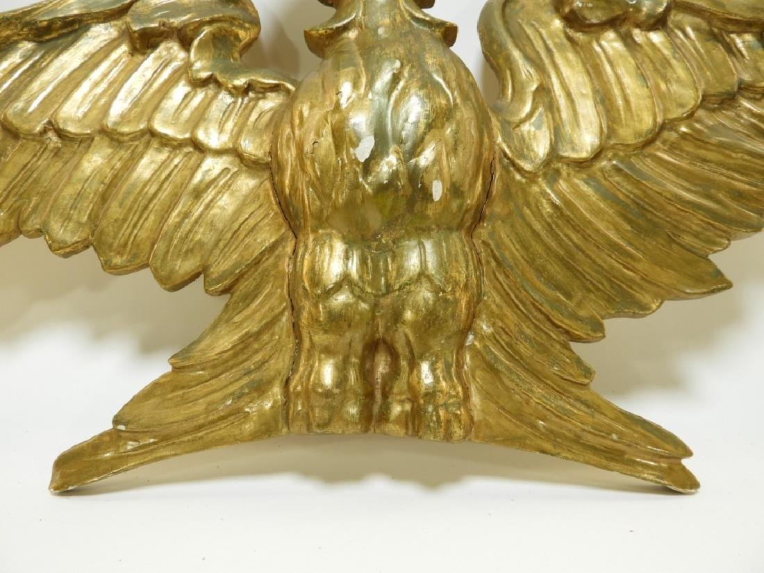 American Carved Gilt Wood Architectural Eagle - 5