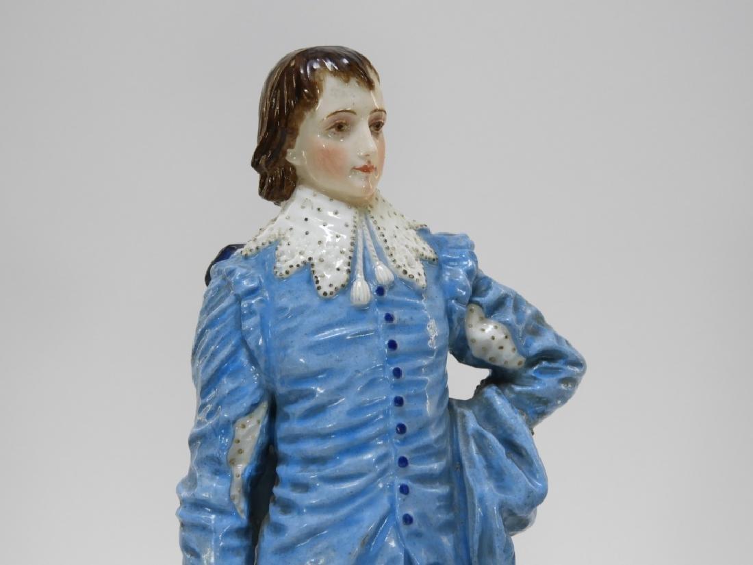 PR Charles Levy Co. Porcelain Male & Female Figure - 2