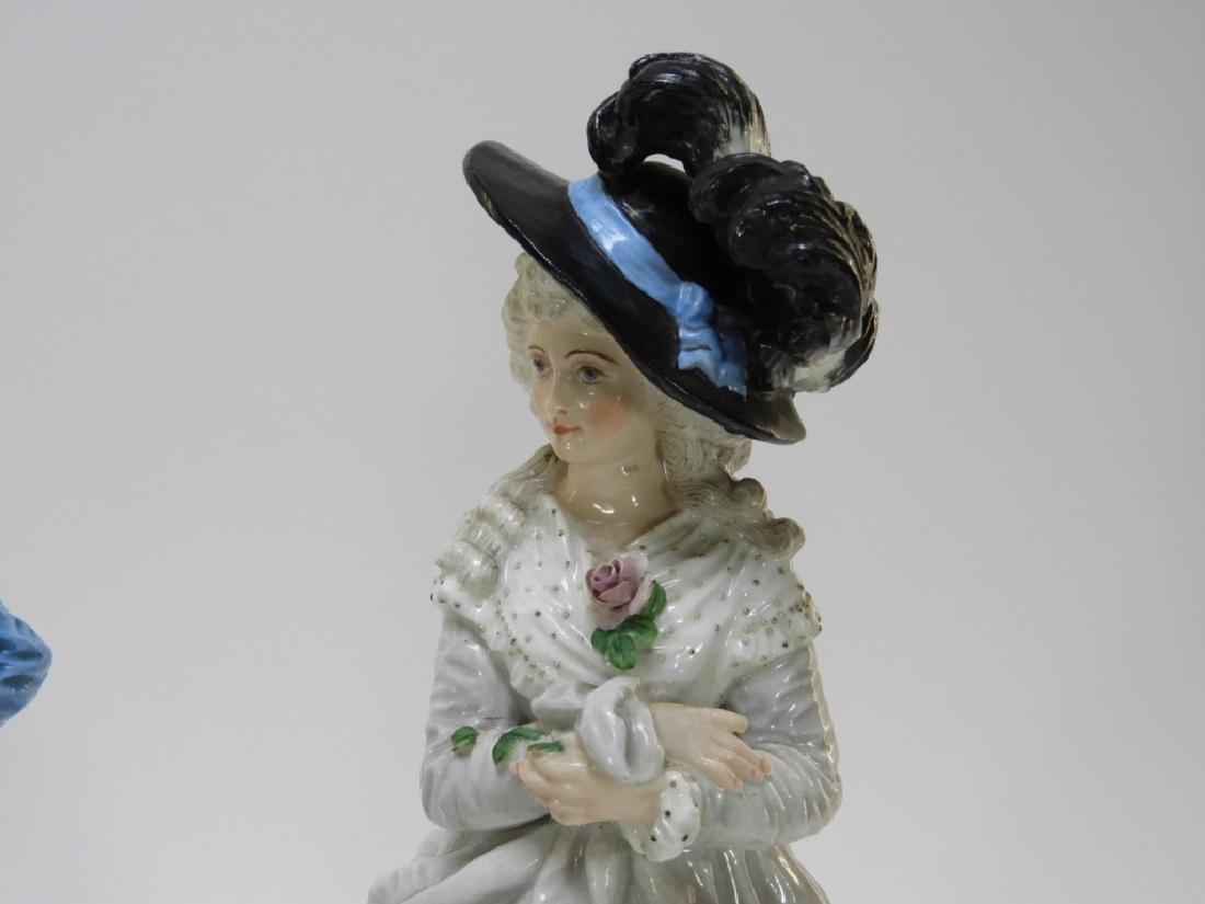 PR Charles Levy Co. Porcelain Male & Female Figure - 3