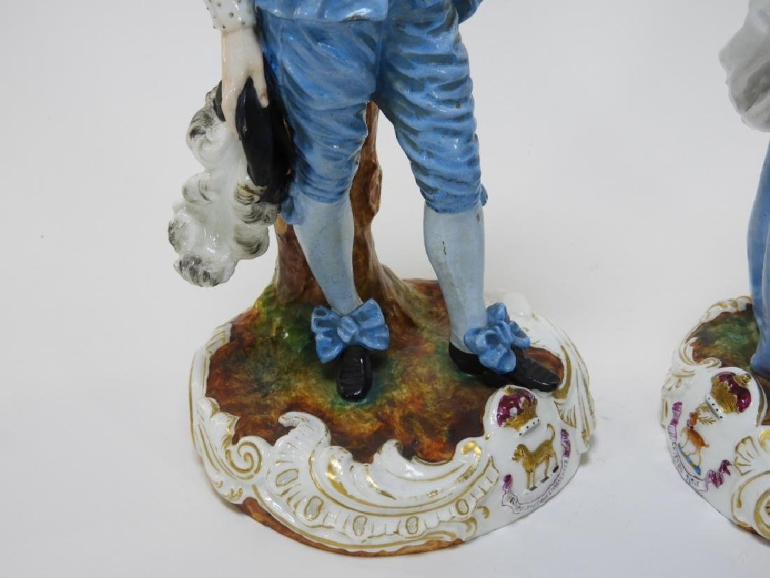 PR Charles Levy Co. Porcelain Male & Female Figure - 4