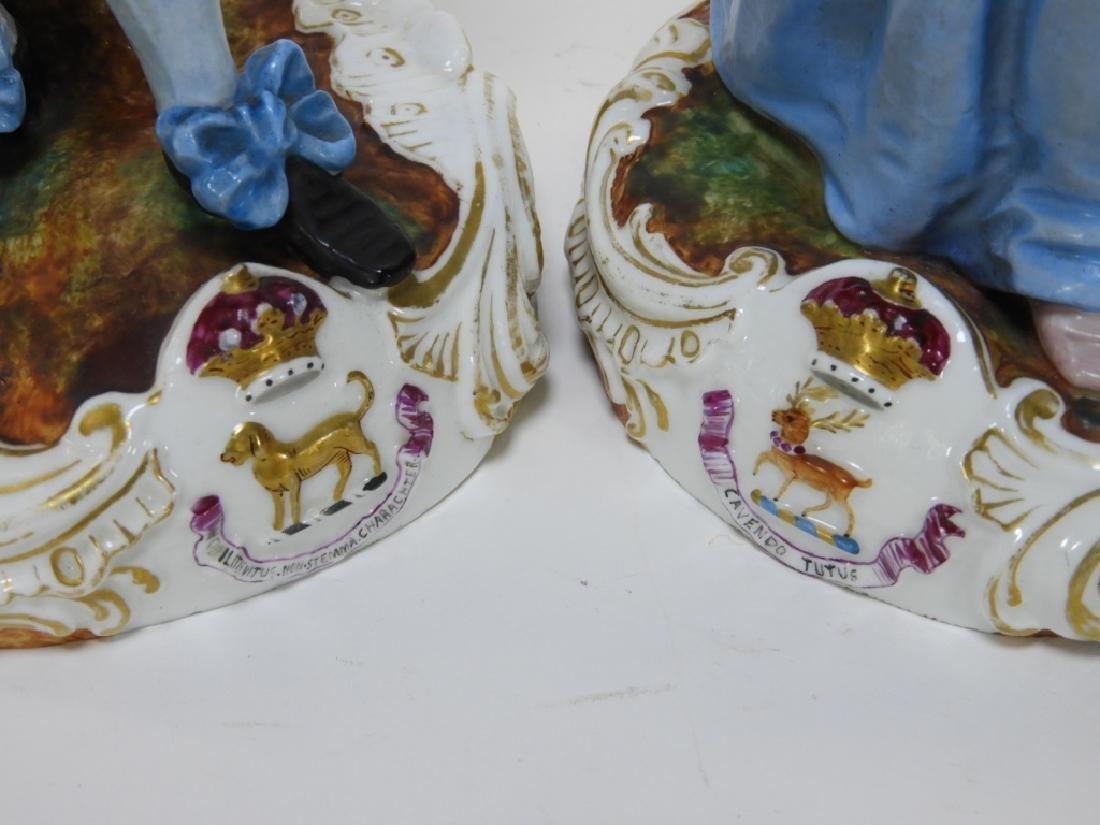 PR Charles Levy Co. Porcelain Male & Female Figure - 5