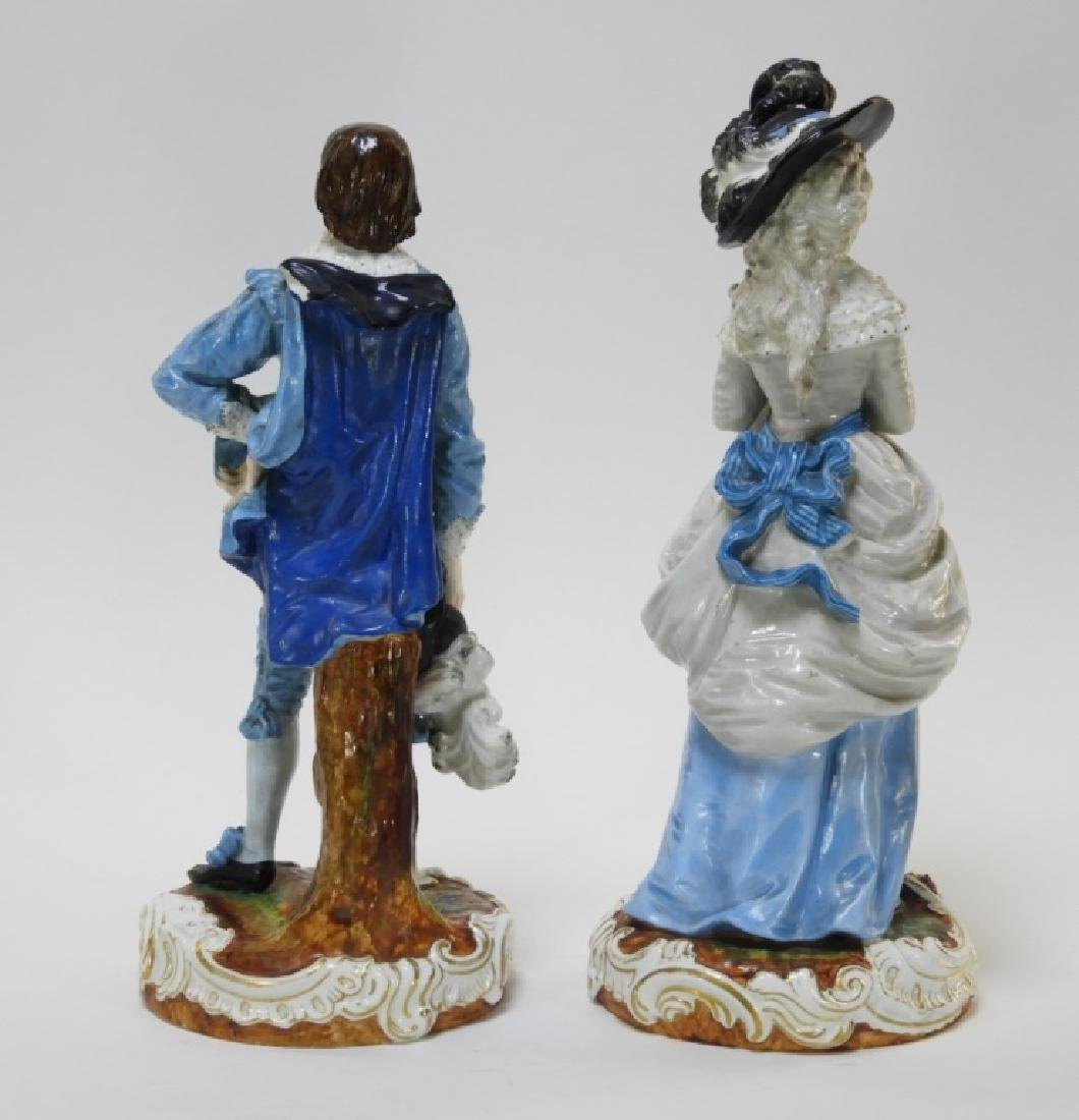 PR Charles Levy Co. Porcelain Male & Female Figure - 6