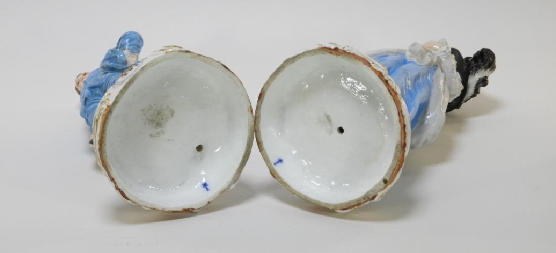 PR Charles Levy Co. Porcelain Male & Female Figure - 7
