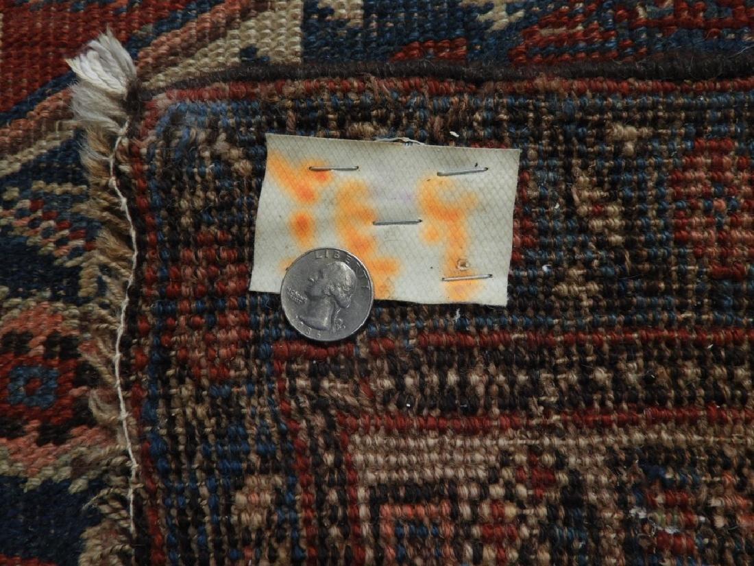 Antique Persian Heriz Wool Carpet Rug Runner - 8