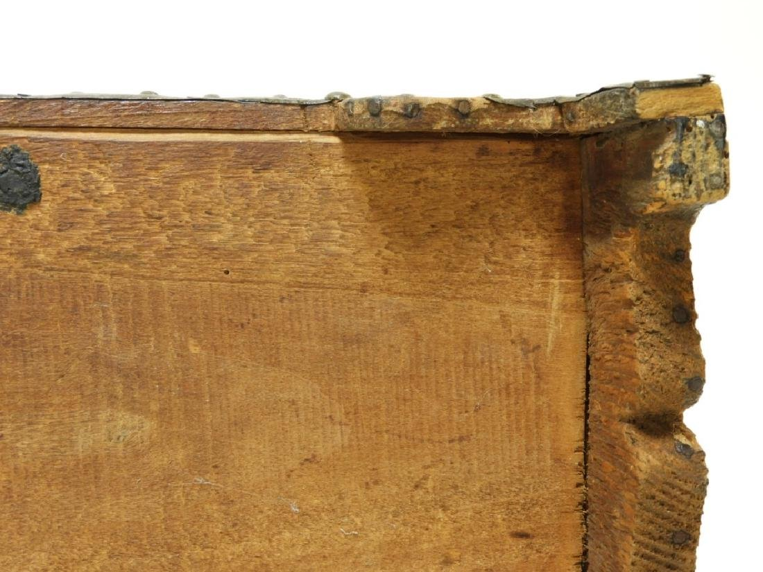 17C. Spanish Colonial Tin Dome Top Casket - 10