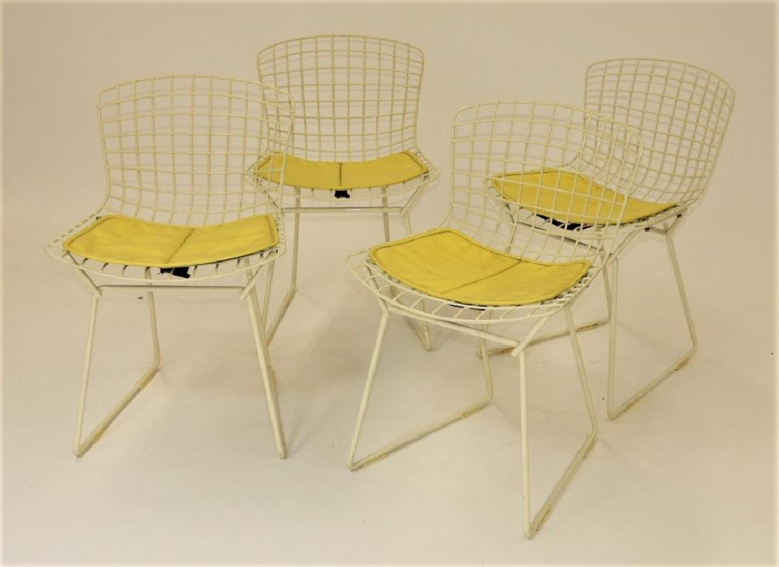 4 MCM Harry Bertoia for Knoll Child's Wire Chairs