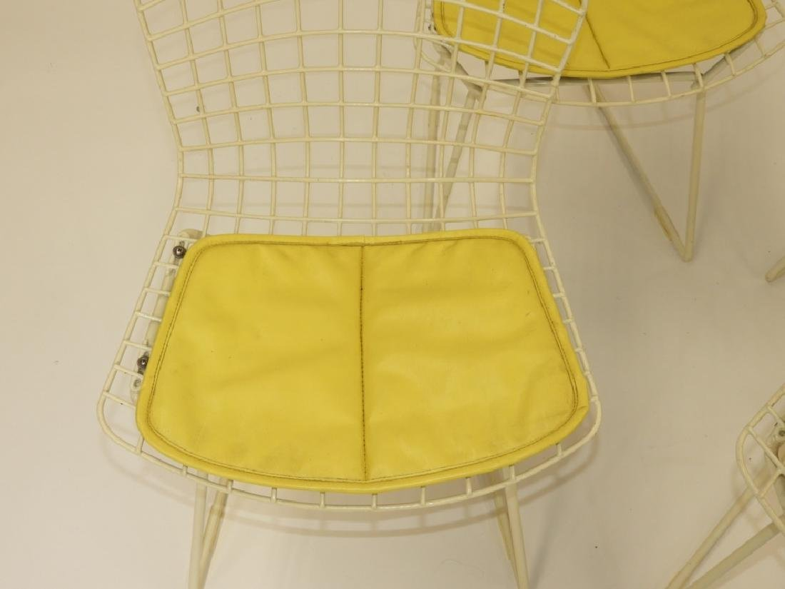 4 MCM Harry Bertoia for Knoll Child's Wire Chairs - 3