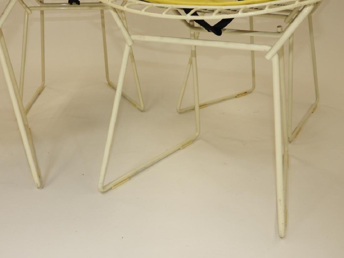 4 MCM Harry Bertoia for Knoll Child's Wire Chairs - 4