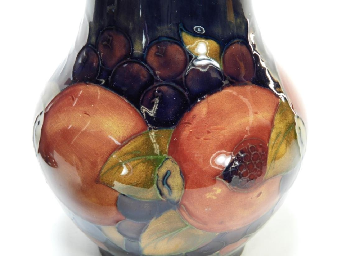 3 Moorcroft Pomegranate Pattern Pottery Vases - 4