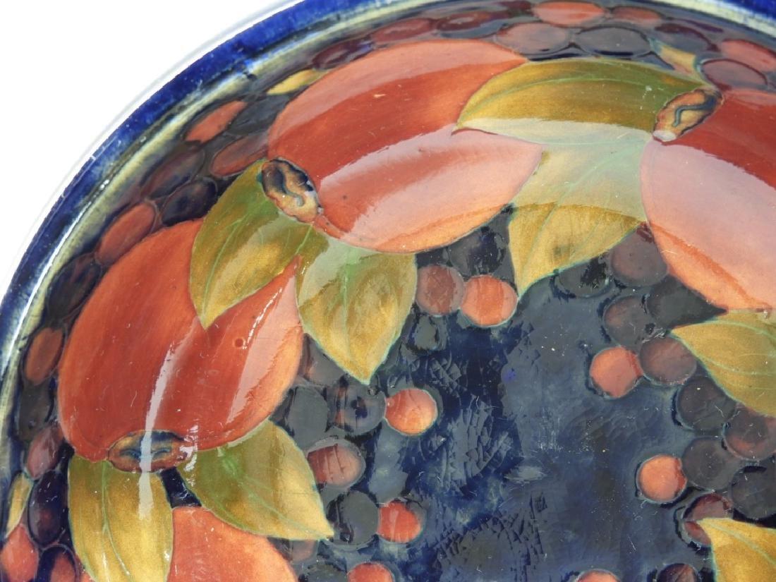 3 Moorcroft Pottery Pomegranate Pattern Bowls Jar - 2
