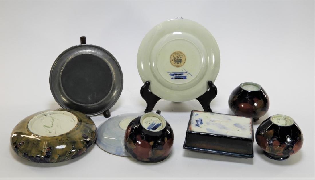 8 Moorcroft Pottery Pomegranate Pattern Vases Box - 9