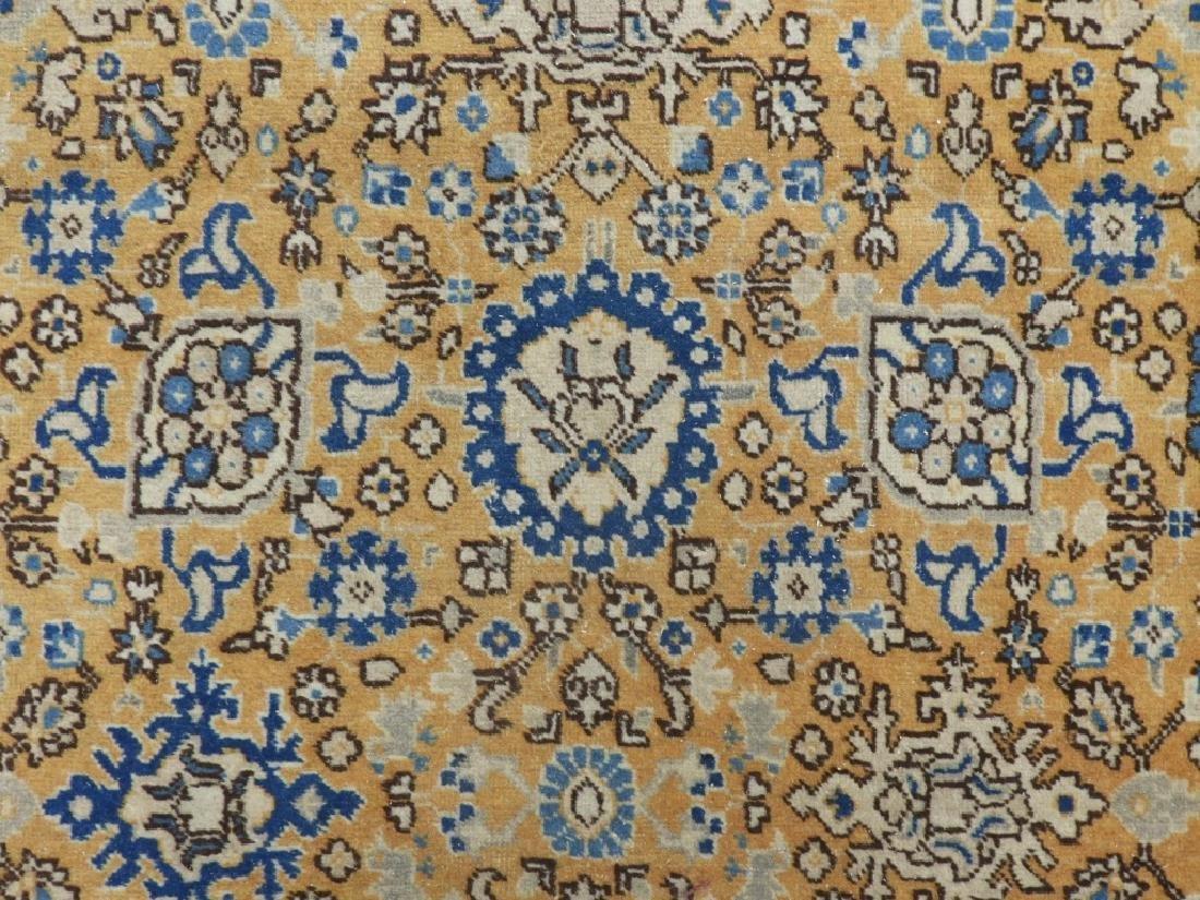 Oriental Persian Tabriz Maize Wool Carpet Rug - 2