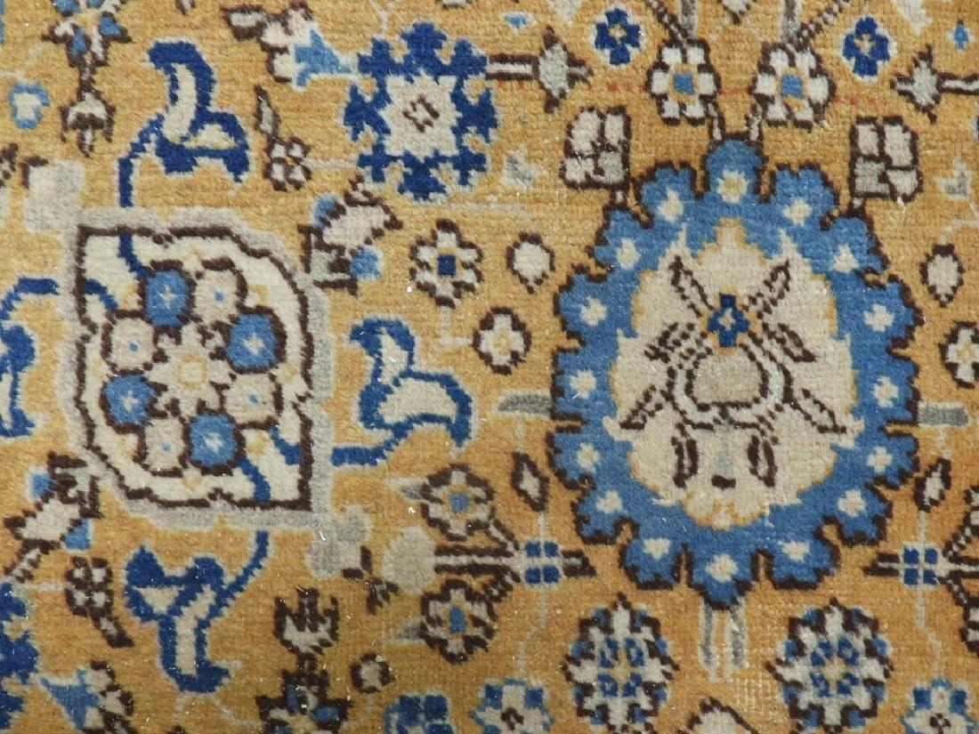 Oriental Persian Tabriz Maize Wool Carpet Rug - 3