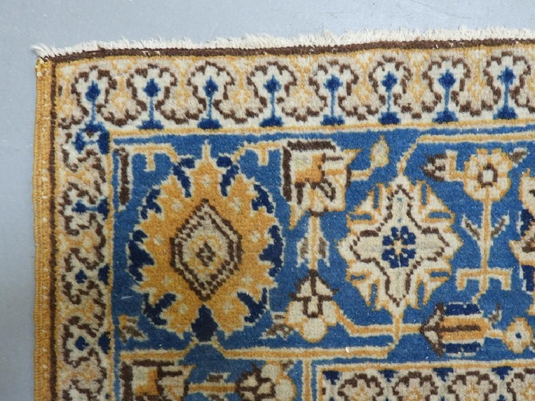 Oriental Persian Tabriz Maize Wool Carpet Rug - 4