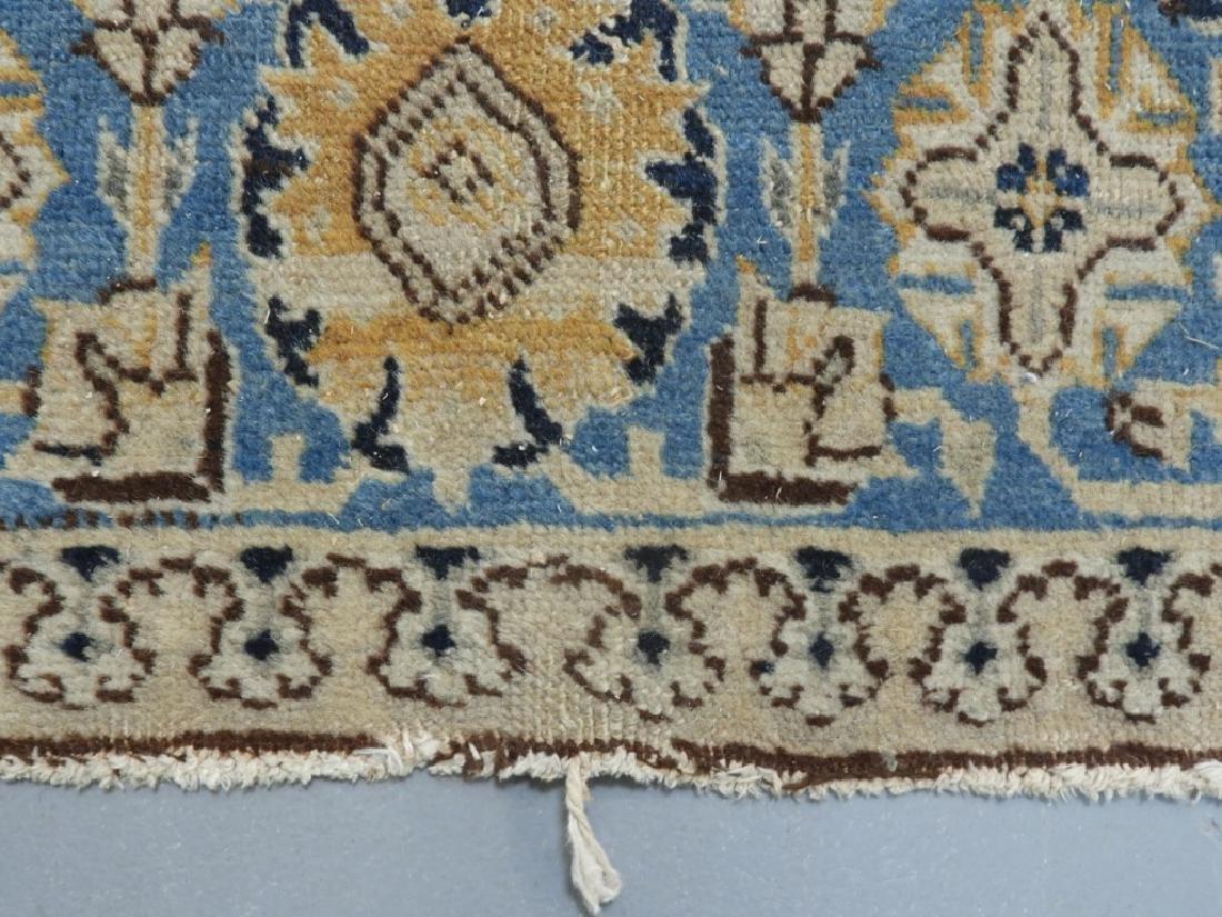 Oriental Persian Tabriz Maize Wool Carpet Rug - 5