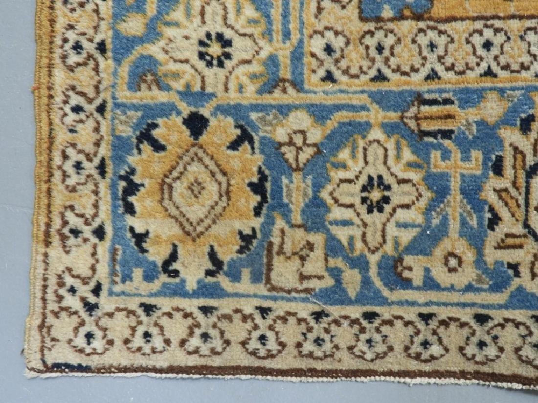 Oriental Persian Tabriz Maize Wool Carpet Rug - 6